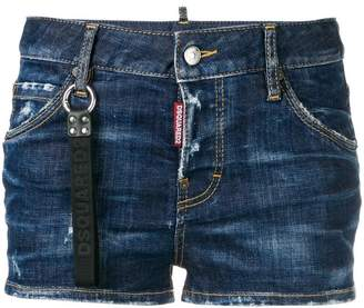 DSQUARED2 distressed denim hot pants
