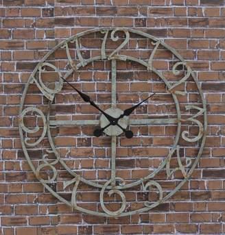 Channel Enterprises Grace Outdoor Wall Clock
