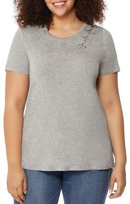 Rebel Wilson x Angels Laced-Cutout Tee