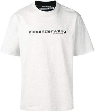 Alexander Wang logo double T-shirt