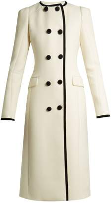 Altuzarra Bellasio collarless double-breasted wool coat