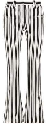 Altuzarra Striped Wool-Blend Flared Pants