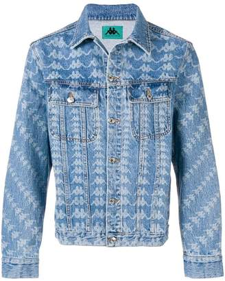 Kappa logo print denim jacket