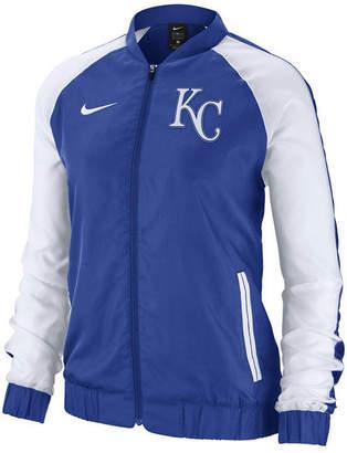 Nike Women Kansas City Royals Varsity Track Jacket