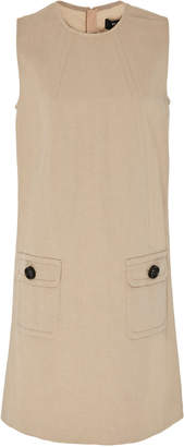 Paule Ka Cotton Canvas Trapeze Dress
