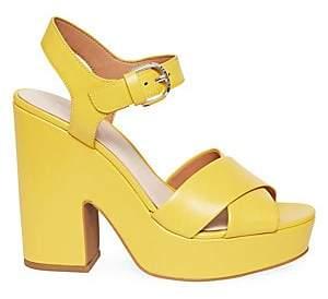 Kate Spade Women's Grace Leather Platform Sandals