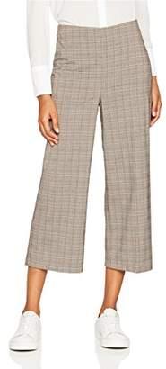 New Look Women's 5424517 Trousers, (Brown Pattern), (Size: 16)