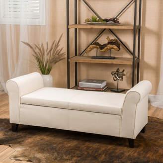 Alcott Hill Varian Upholstered Storage Bench