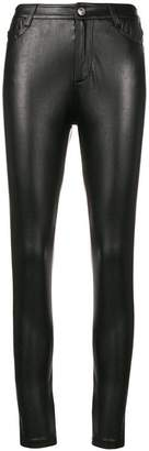 Ermanno Scervino wet-look trousers