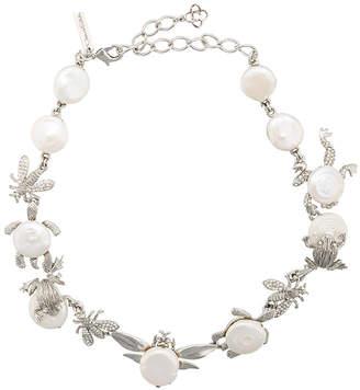 Oscar De La Renta parlor necklace - Grey GYfrgks