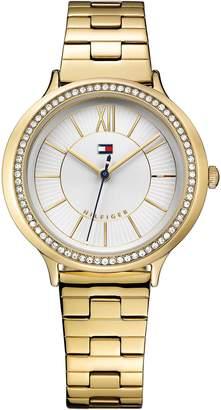 Tommy Hilfiger Gold Crystal Watch