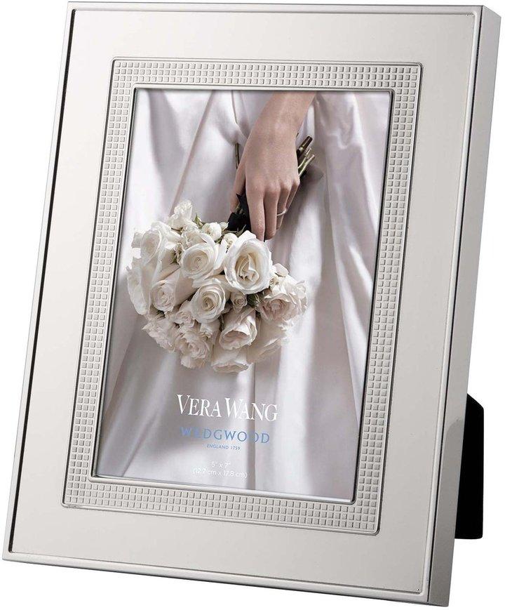 WedgwoodWedgwood Vera Wang Blanc Sur Blanc Frame - 5 x 7