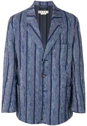 Marni striped blazer