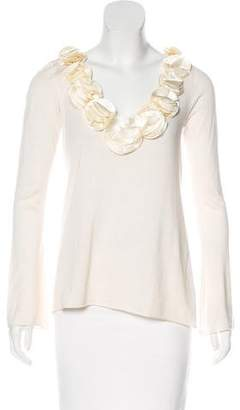 Magaschoni Silk Knit Top
