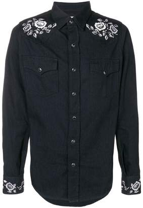 Saint Laurent western-style shirt