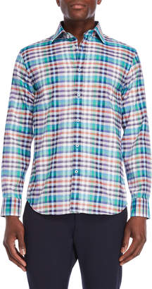 James Tattersall Multi Check Shirt