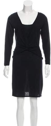 Temperley London Knot-Accented Knit Dress