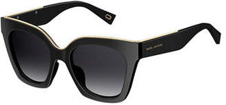 Marc Jacobs Square Beaded Sunglasses