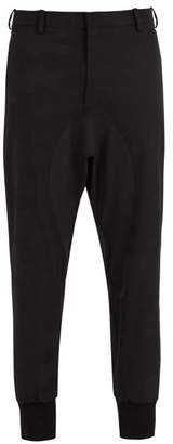 Neil Barrett - Camouflage Stretch Wool Track Pants - Mens - Black