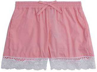 Ermanno Scervino Lace Hem Shorts