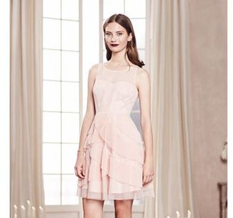 LC Lauren Conrad Runway Collection Tiered Fit & Flare Dress - Women's $80 thestylecure.com