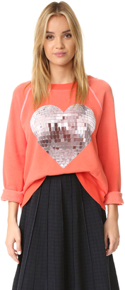 Wildfox My Disco Heart Sweatshirt $114 thestylecure.com