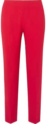 Antonio Berardi Stretch-cady Slim-leg Pants - Red