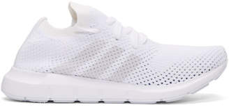 adidas White Swift Run PK Sneakers