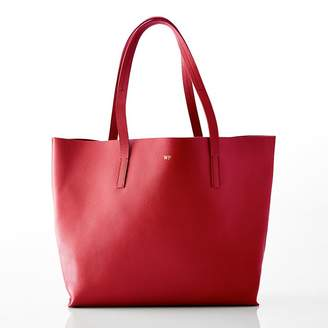 Mark And Graham Daily East/West Leather Tote