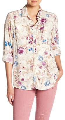 Nine West Maya Floral Shirt
