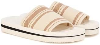 Acne Studios Tania printed slip-on sandals