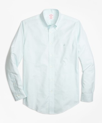 Brooks Brothers Non-Iron Madison Fit Supima Cotton Oxford Sport Shirt