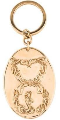 Dolce & Gabbana Logo Oval Keychain