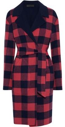 Rag & Bone Sven Reversible Checked Wool-blend Felt Coat