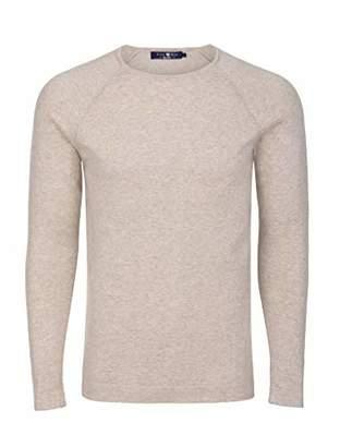 Stone Rose Men's Lightweight Cotton Crew Neck Sweater
