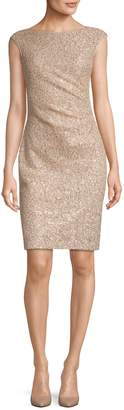 Vince Camuto Sequin Sleeveless Bodycon Dress