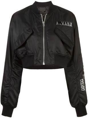 Alexander Wang Credit Card bomber jacket