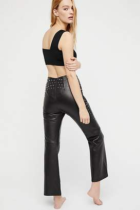 Understated Leather Run Riot Studded Leather Pants