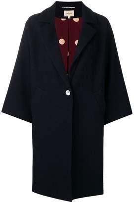 Bellerose single-breasted oversized coat
