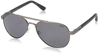 Revo Raconteur RE 1011 00 GY Polarized Aviator Sunglasses