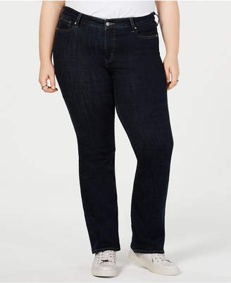 Levi's (リーバイス) - Levi Plus Size 415 Classic Stretch Bootcut Jeans