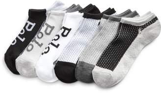 Ralph Lauren Mesh-Top Ultralow Sock 6-Pack