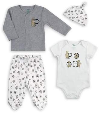 Disney Baby's 4-Piece Cotton-Blend Take Me Home Set