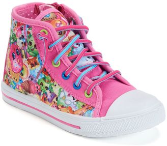 Shopkins Toddler Girls' High-Top Sneakers $39.99 thestylecure.com