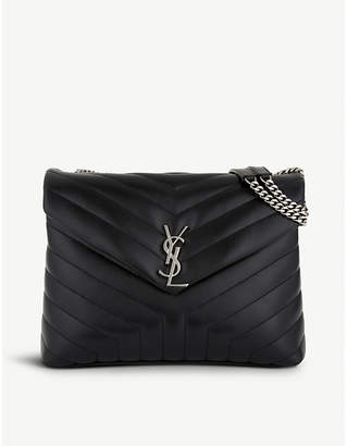 Saint Laurent Monogram medium quilted leather shoulder bag