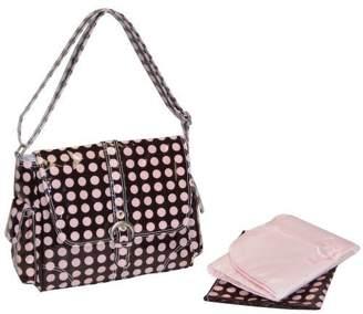 Kalencom Midi Coated Buckle Bag - Pink Heavenly Dot by
