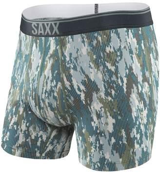 Saxx UNDERWEAR Quest 2.0 Print Boxer Fly Men's Underwear