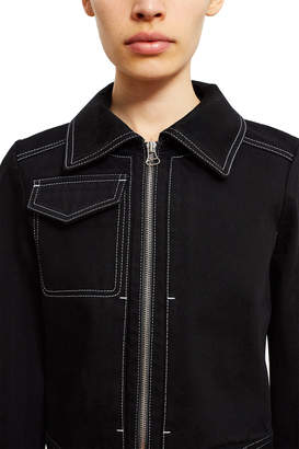 Lorod Cropped Zip-Up Jacket