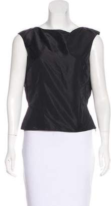 Giambattista Valli Sleeveless Silk Top