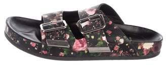 Givenchy Floral Slide Sandals